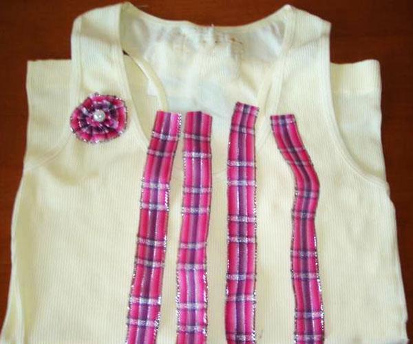 11 Passo a passo – Camiseta customizada para o Dia das Mães