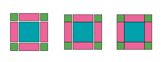 graficos Passo a passo – Como fazer uma almofada patchwork