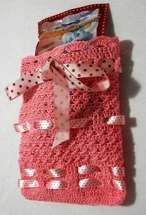 principal1 Passo a passo – Sacolinha em crochê decorada com fitas