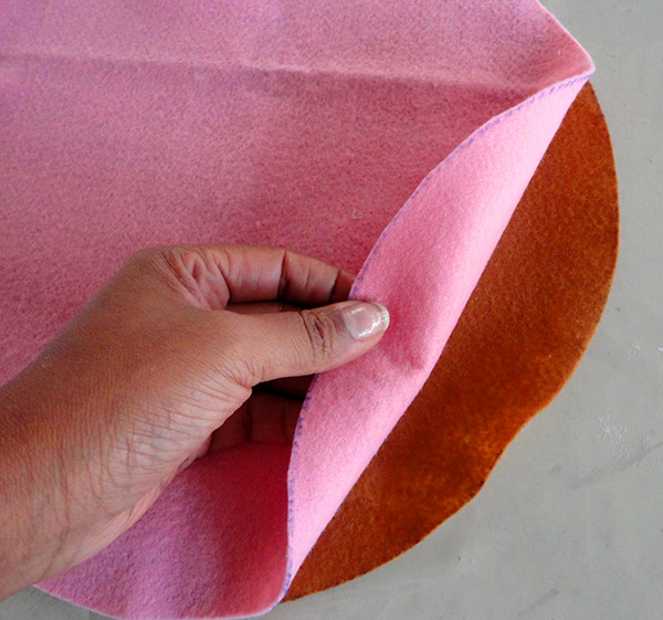 3a Passo a passo – Porta calcinha feito com vinil