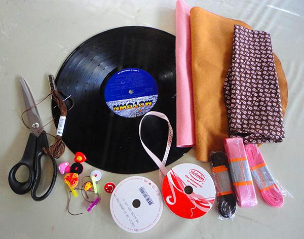 materiais Passo a passo – Porta calcinha feito com vinil