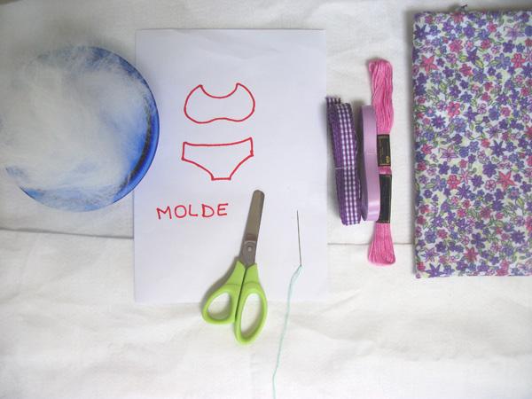 materiais Passo a passo – Como fazer uma lembrancinha para chá de lingerie