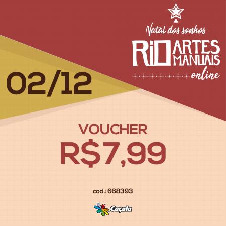 DIA 2/12: Voucher R$ 7,99 | REF 668393