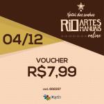 DIA 4/12: Voucher R$ 7,99 | REF 668397