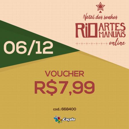 DIA 6/12: Voucher R$ 7,99 | REF 668400