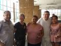Equipe Caçula, Eduardo Moura e ganhadoras de brindes PAF Acari.