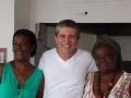 Natalina, Eduardo Moura e Georgina PAF Acari.