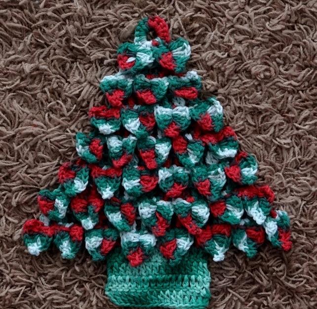 enfeites de natal para jardim passo a passo : enfeites de natal para jardim passo a passo:Passo a passo – Enfeite de porta pinheiro de Natal