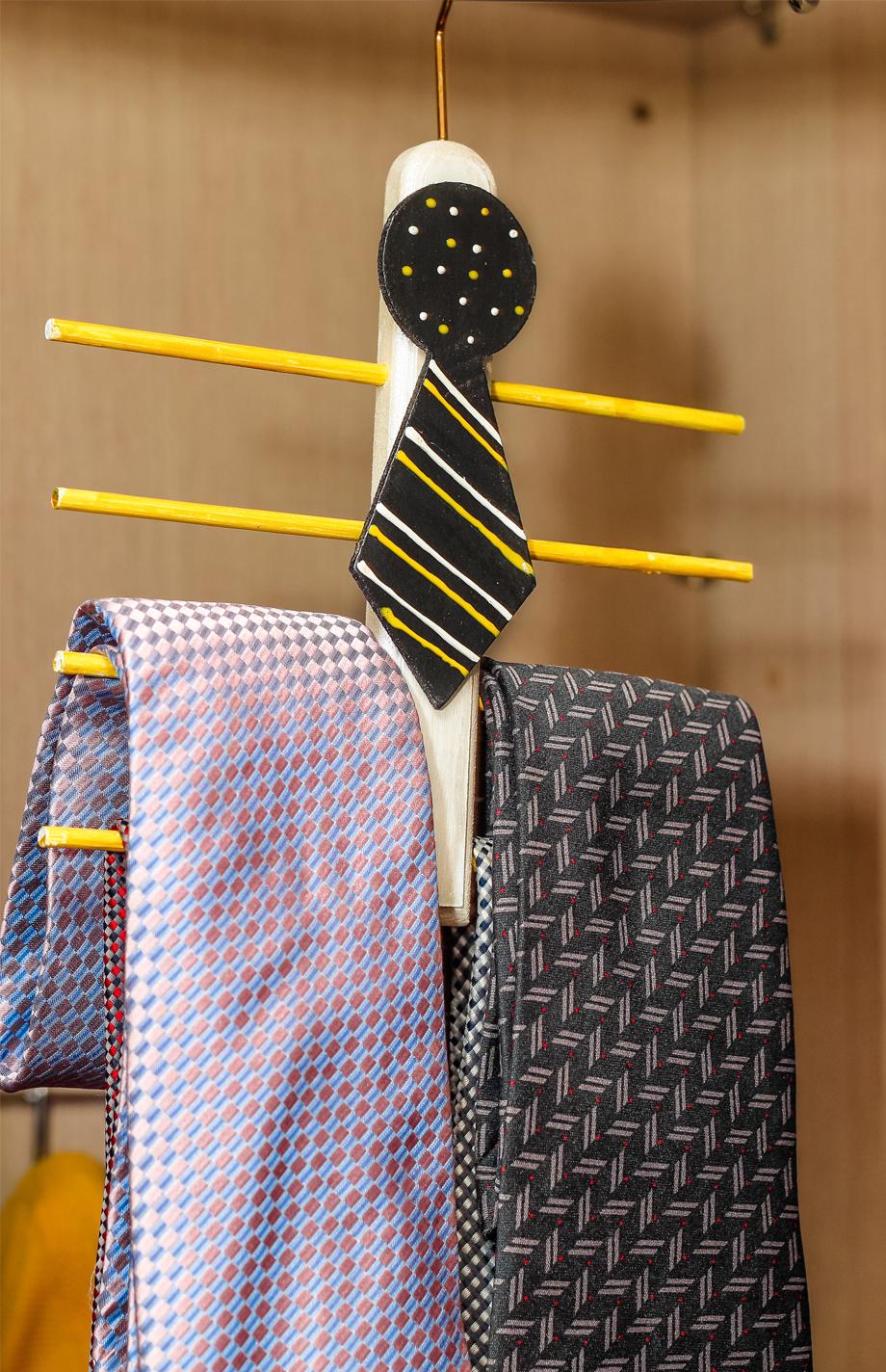 Passo a passo – Cabide de gravata para o Dia dos Pais