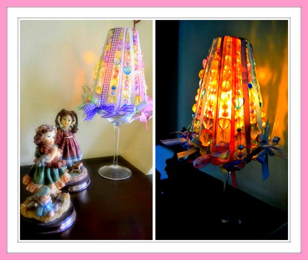 Passo a passo – Luminária de vela com fitas Sinimbu