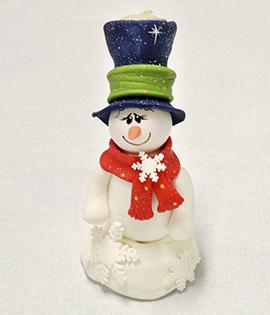 Passo a Passo – Castiçal de Boneco de Neve para o Natal