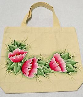 Passo a Passso – Ecobag Floral (Pintura em geral)