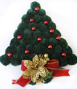 Passo a Passo – Árvore de Natal PomPom