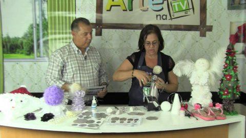 Rio Artes Manuais – Arte na TV (Passo a Passo – Anjinho Decorativo) – 1º bloco