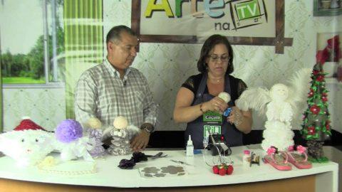 Rio Artes Manuais – Arte na TV (Passo a Passo – Anjinho Decorativo) – 2º bloco