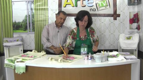 Rio Artes Manuais – Artes na TV (Passo a Passo – Ecobag Floral com pintura em geral)