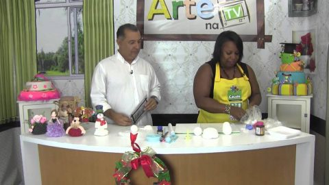 Rio Artes Manuais – Artes na TV (Passo a Passo – Castiçal de Boneco de Neve para o Natal)