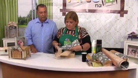 Rio Artes Manuais – Artes na TV (Passo a Passo – Decoupagem em MDF para um baú indiano)