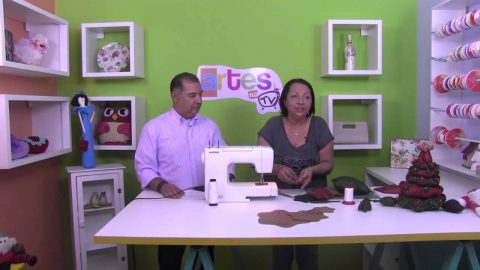 Rio Artes Manuais – Artes na TV (Passo a Passo – Árvore de Natal de Patchwork)