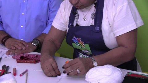 Rio Artes Manuais – Artes na TV (Passo a Passo – Criação de um Papai Noel de Fuxico)