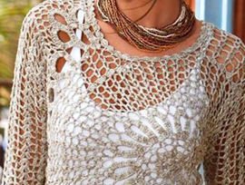 Crochê é a tendência do Verão 2015