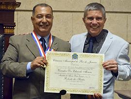 Entrega da medalha Pedro Ernesto 2015