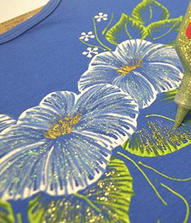 Passo a Passo – Blusa com pintura em alto relevo