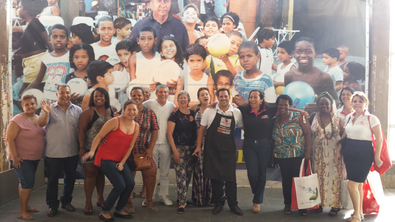 Equipe de instrutores Caçula e parceiros PAF Acari.