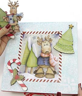 Passo a Passo – Caixa MDF natalino em relevo