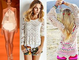 Crochê e tricô são umas das tendências do Verão 2016