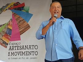 Caçula faz parceria com programa do artesanato do estado do Rio de Janeiro