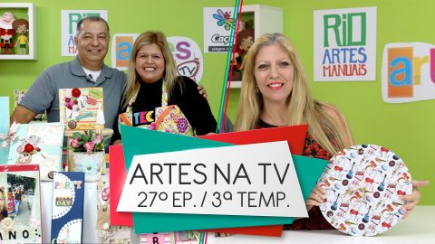 Programa Artes na TV – Band Rio: 3ª Temporada – 27º Episódio