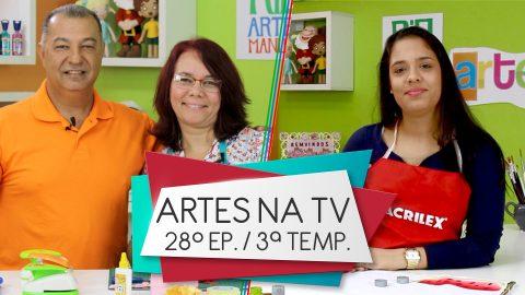 Programa Artes na TV – Band Rio: 3ª Temporada – 28º Episódio