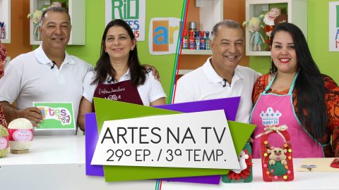 Programa Artes na TV – Band Rio: 3ª Temporada – 29º Episódio