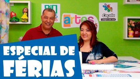 Programa Artes na TV – Band Rio: Especial de Férias 2017 – 4º Episódio