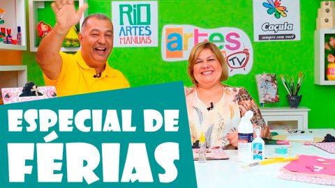 Programa Artes na TV – Band Rio: Especial de Férias 2017 – 2º Episódio