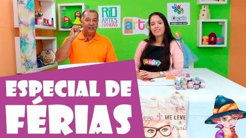 Programa Artes na TV – Band Rio: Especial de Férias 2017 – 1º Episódio
